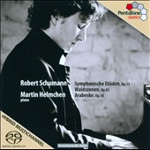 Schumann: Symphonische Etuden, Op. 13; Waldszenen, Op. 82; Arabesque, Op. 18 / Martin Helmchen, piano