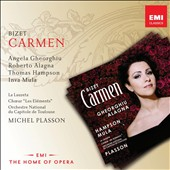 Bizet: Carmen / Angela Gheorghiu, Roberto Alagna, Thomas Hampson, Inva Mula. Michel Plasson