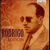 Joaquín Rodrigo Edition: Concertos & Orchestral Works, Chamber Music, Violin Works, Guitar Music, Vocal Music / Various Artists [21 CDs]