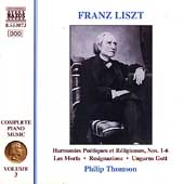 Liszt: Complete Piano Music Vol 3 / Philip Thomson