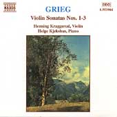 Grieg: Violin Sonatas no 1-3 / Kraggerud, Kjekshus