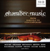 Chamber Music from Baroque to Contemporary - works by Mozart, Krommer, Beethoven, Rihm, Flotow, Leclair, Schenk et al.