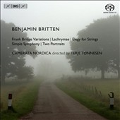 Britten: Frank Bridge Variations; Lachrymae; Elegy for Strings; Simple Symphony; Two Portraits / Catherine Bullock, viola