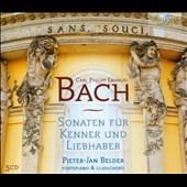 C.P.E. Bach: Sonatas for fortepiano and clavichord Wq.55 - 59; Wq.61 / Pieter Jan Belder, fortepiano & clavichord [5 CDs]