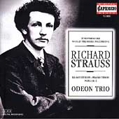 Strauss: Piano Trios no 1 & 2 / Odeon Trio