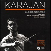 Karajan and His Soloists, Vol. 1 (1948-1958) / Lipatti, Gieseking, Brain, Richter-Haaser