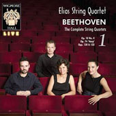 Beethoven: The Complete String Quartets, Vol. 1 - Op. 18/4; Op. 74 'Harp'; Opp. 130 & 133 / Elias String Quartet