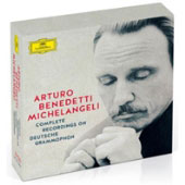 Arturo Benedetti Michelangeli: The Complete Recordings on Deutsche Grammophon - Works by Mozart, Beethoven, Chopin, Schubert, Schumann, Debussy, and more / Arturo Benedetti Michelangeli, piano [10 CDs]