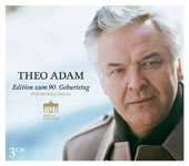 Theo Adam sings Arias of Bach, Mozart, Strauss, Wagner;
