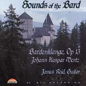 Sounds of the Bard - Mertz: Bardenklänge / James Reid