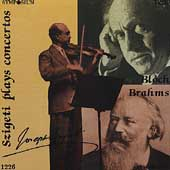 Szigeti Plays Concertos - Brahms, Bloch