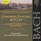 Edition Bachakademie Vol 105 - Concerto, Fantasia & Fugue   Keyboard Works from the Weimar