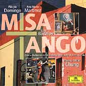 Bacalov: Missa Tango; Piazzolla: Adi&oacute;s, etc / Chung, et al