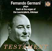 Fernando Germani plays Bach at the Organ of Laurenskirk