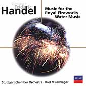 Eloquence - Handel: Water Music, etc / Münchinger, et al