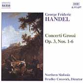 Handel: Concerti Grossi Op 3 no 1-6 / Creswick, et al