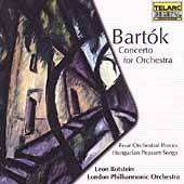 Bartok: Concerto for Orchestra, etc / Botstein, London PO