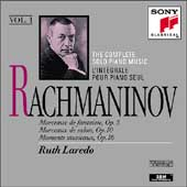 Rachmaninov: Complete Solo Piano Music Vol 1 / Ruth Laredo