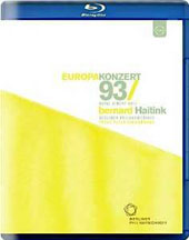 Europakonzert 1993, Royal Albert Hall - Tchaikovsky: Romeo and Juliet, overture; Stravinsky: Rite of Spring; Mozart: Violin Concerto no 3 / Frank Peter Zimmermann, violin [Blu-ray]