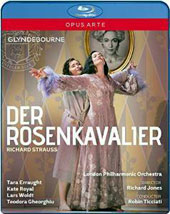 Richard Strauss: Der Rosenkavalier / Tara Erraught, Kate Royal, Lars Woldt, Teodora Gheorghiu, Michael Kraus, Miranda Keys. Robin Ticciati, Glyndebourne, 2014 [Blu-ray]