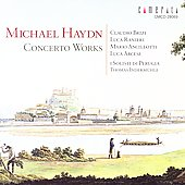Michael Haydn: Concertos, etc / Indermuhle, Brizi, et al