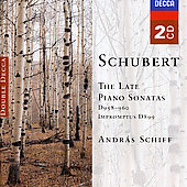 Schubert: Piano Sonatas D9.58, D.960, D.959, Impromptus D.899
