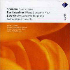 Rachmaninov: Piano Concerto No.4/Scriabin: Prometheus/Stravisnky: Piano Concerto