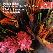 Haken: Concerto for Five-String Viola, etc / Benichou, et al