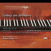 Beethoven: Sonata for Violin and Piano no 4, 5 & 9 / Matthias Metzger, Gerritt Zitterbart
