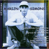 Marijn Simons: Cuddly Animals Violin Concerto; String Quartet; Capriccio for Stan and Ollie
