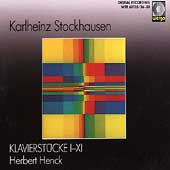 Stockhausen: Klavierst&uuml;cke nos 1-11 / Herbert Henck