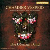 Chamber Vespers - Miniature Masterpieces Of The Italian Baroque / Faye Newton, soprano