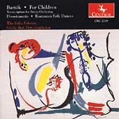 Bartók: For Children, Divertimento, etc / Gisèle Ben-Dor