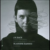 JS Bach: French & English Suites & Toccatas / Blandine Rannou, Harpsichord