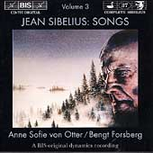 Sibelius: Songs Vol 3 / Anne Sofie von Otter, Bengt Forsberg