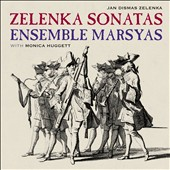Zelenka Sonatas: 3 Trio Sonatas for two oboes, bassoon & continuo / Monica Huggett, violin