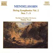 Mendelssohn: String Symphonies Vol 2 / Ward, Northern CO
