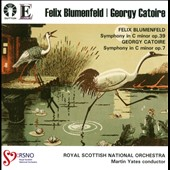 Felix Blumenfeld and Georgy Catoire: Symphonies / Royal Scottish Nat'l Orch., Yates