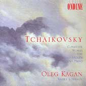 Tchaikovsky: Complete Works for Violin & Piano / Oleg Kagan