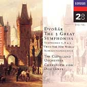 Dvor&#225;k: Symphonies 7, 8 & 9, etc / Dohn&#225;nyi, Cleveland Orch