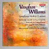Vaughan Williams: Symphony no 8, etc / Thomson, London SO