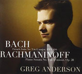 Bach: French Suite No. 3 in G major, BWV 816; Rachmaninoff: Piano Sonata No. 1 in D minor, Op. 28