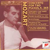 Bernstein Century - Bernstein Plays and Conducts Mozart