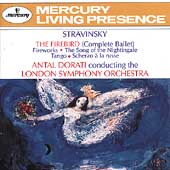 Stravinsky: The Firebird, etc / Dorati, London SO
