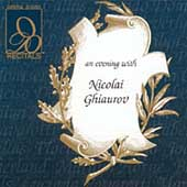Recitals - An Evening with Nicolai Ghiaurov