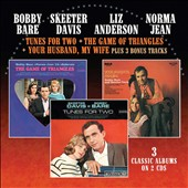 Liz Anderson/Norma Jean (Country)/Skeeter Davis/Bobby Bare: Tunes for Two/Game of Triangles/Your Husband, My Wife *