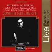 Pfitzner: Palestrina /Keilberth, Steffek, Fassbaender, et al