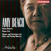 Beach: Piano Quintet, etc / Ambache Chamber Ensemble