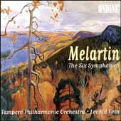 Melartin: The Six Symphonies / Leonid Grin, Tampere PO