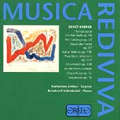 Musica Rediviva - Krenek: The Ballad of the Railroads, etc
